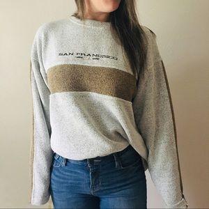 Vintage • San Francisco Gray Sweatshirt